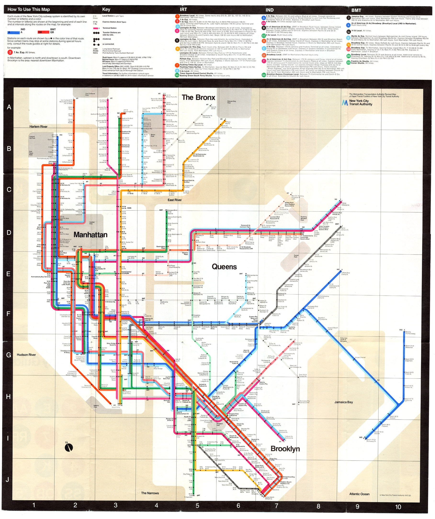 Ideal Nyc Subway Map Efficient.Coudal Archives Maps And Travel